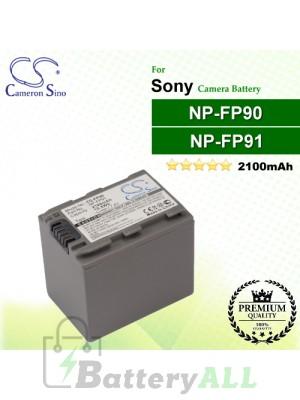 CS-FP90 For Sony Camera Battery Model NP-FP90 / NP-FP91