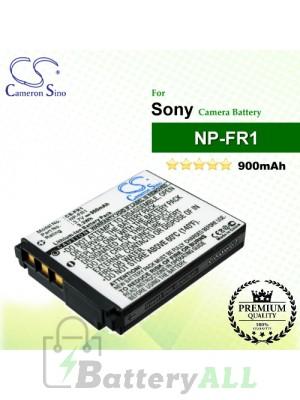 CS-FR1 For Sony Camera Battery Model NP-FR1