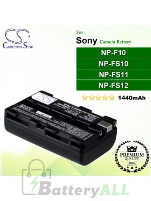 CS-FS11 For Sony Camera Battery Model NP-F10 / NP-FS10 / NP-FS11 / NP-FS12