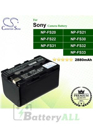 CS-FS21 For Sony Camera Battery Model NP-FS20 / NP-FS21 / NP-FS22