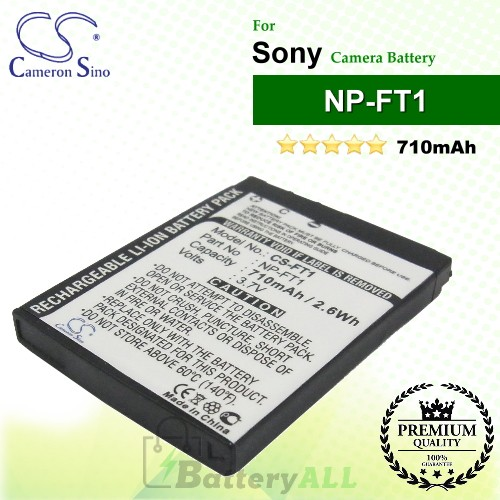 CS-FT1 For Sony Camera Battery Model NP-FT1
