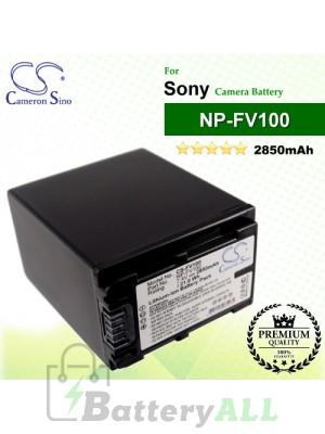 CS-FV100 For Sony Camera Battery Model NP-FV100