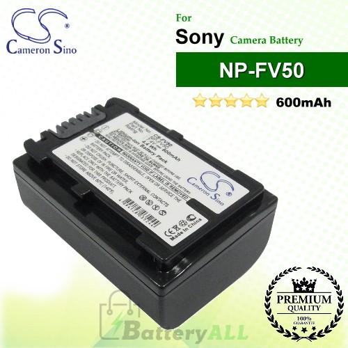 CS-FV50 For Sony Camera Battery Model NP-FV50