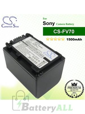 CS-FV70 For Sony Camera Battery Model NP-FV70