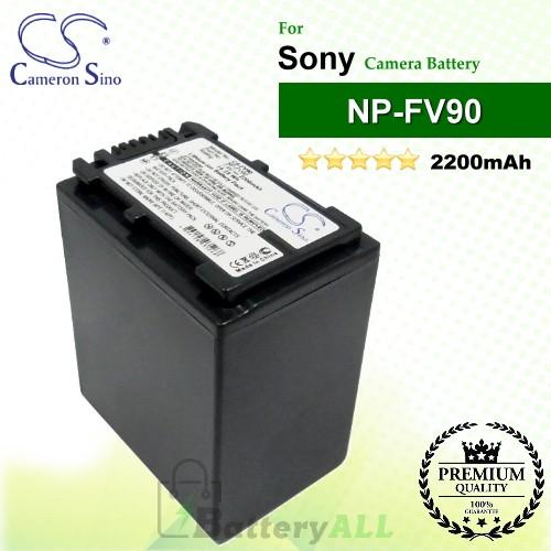 CS-FV90 For Sony Camera Battery Model NP-FV90