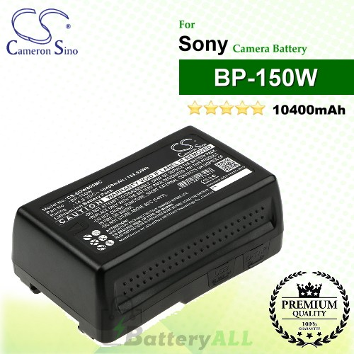 CS-SDW800MC For Sony Camera Battery Model BP-150W
