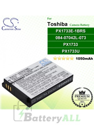 CS-PX1733MC For Toshiba Camera Battery Model 084-07042L-073 / PX1733 / PX1733E-1BRS / PX1733U