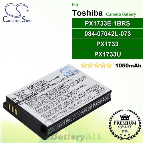 CS-PX1733MC For Toshiba Camera Battery Model 084-07042L-073 / PX1733 / PX1733E-1BRS / PX1733U