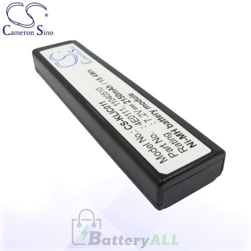 CS Battery for Kodak DCS-560 / DCS-620 / DCS-620x / DCS-660 Battery 2150mah CA-KLIC011