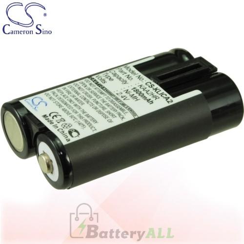 CS Battery for Kodak EasyShare CX4200 / CX4210 / CX4230 Battery 1800mah CA-KLICA2