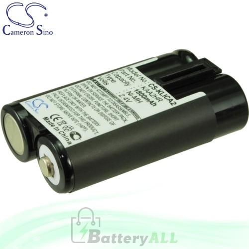 CS Battery for Kodak EasyShare DX3215 / DX3500 / DX3600 Battery 1800mah CA-KLICA2