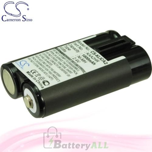 CS Battery for Kodak EasyShare C603 / C613 / C653 / C703 Battery 1800mah CA-KLICA2