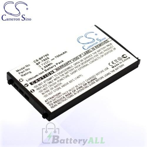 CS Battery for Kyocera BP-780S / Kyocera Contax SL300RT Battery 700mah CA-BP780