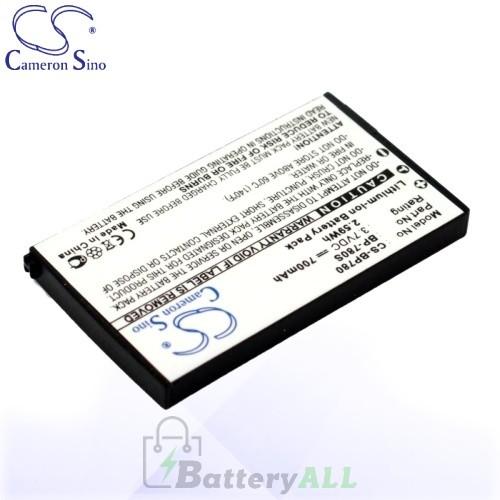 CS Battery for Kyocera Finecam SL300R / Finecam SL400R Battery 700mah CA-BP780