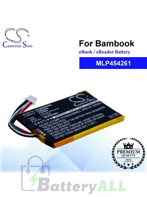 CS-BSD928SL For Bambook Ebook Battery Model MLP454261