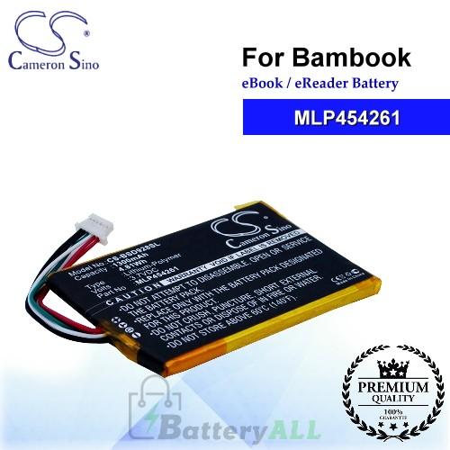 CS-BSD928SL For Bambook Ebook Battery Model MLP454261