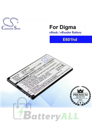 CS-NK4LSL For Digma Ebook Battery E601hd