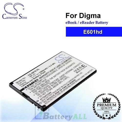 CS-NK4LSL For Digma Ebook Battery E601hd