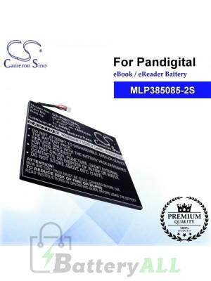 CS-PNR710SL For Pandigital Ebook Battery Model MLP385085-2S