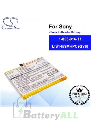 CS-PRD350SL For Sony Ebook Battery Model 1-853-016-11 / LIS1459MHPC9(SY6)