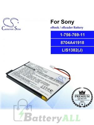 CS-PRD500SL For Sony Ebook Battery Model 1-756-769-11 / 8704A41918 / LIS1382(J)