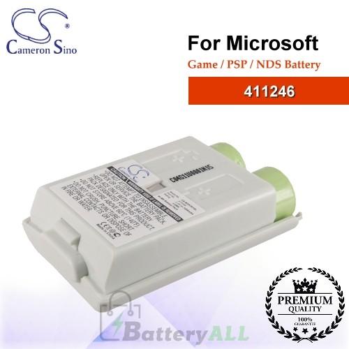 CS-MSX361SL For Microsoft Game PSP NDS Battery Model 411246