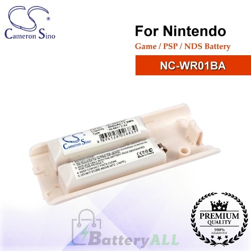 CS-NDW001SL For Nintendo Game PSP NDS Battery Model NC-WR01BA