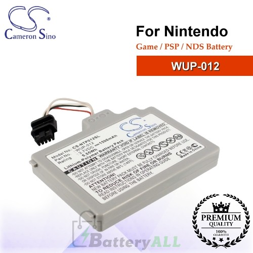CS-NTP012SL For Nintendo Game PSP NDS Battery Model WUP-012