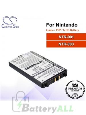 CS-NTR003SL For Nintendo Game PSP NDS Battery Model NTR-001 / NTR-003