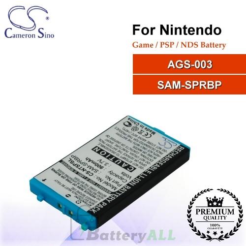 CS-NTSPSL For Nintendo Game PSP NDS Battery Model AGS-003 / SAM-SPRBP