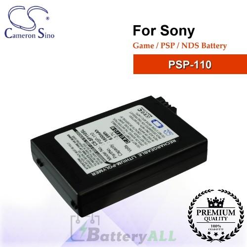 CS-SP110SL For Sony Game PSP NDS Battery Model PSP-110