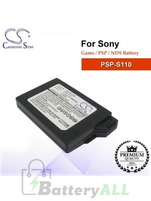 CS-SP112SL For Sony Game PSP NDS Battery Model PSP-S110
