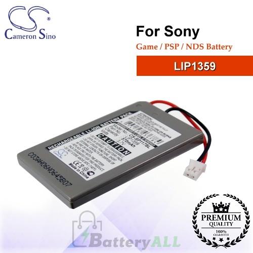 CS-SP117SL For Sony Game PSP NDS Battery Model LIP1359
