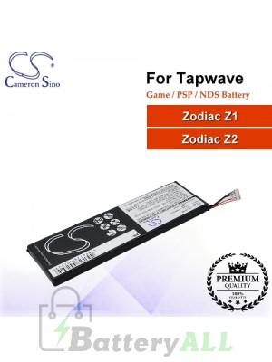 CS-TZ12SL For Tapwave Game PSP NDS Battery Zodiac Z1 / Zodiac Z2