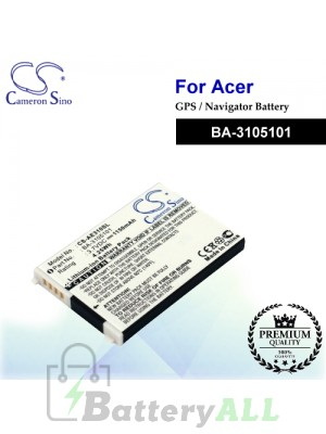 CS-AE310SL For Acer GPS Battery Model BA-3105101