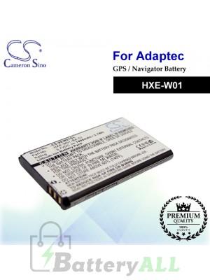 CS-XEW01SL For Adaptec GPS Battery Model HXE-W01
