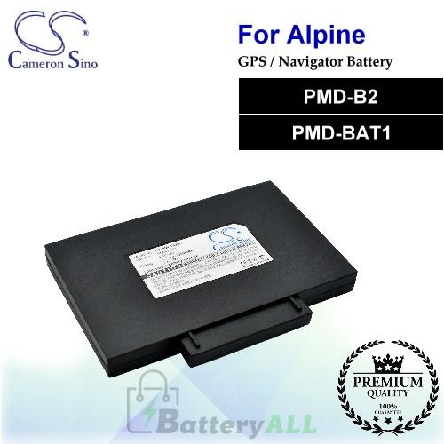 CS-PMD100SL For Alpine GPS Battery Model PMD-B2 / PMD-BAT1