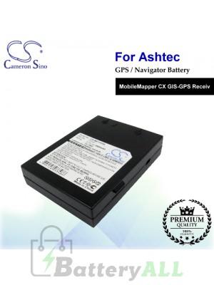 CS-ME1141SL For Ashtech GPS Battery Fit Model MobileMapper CX GIS-GPS Receiv