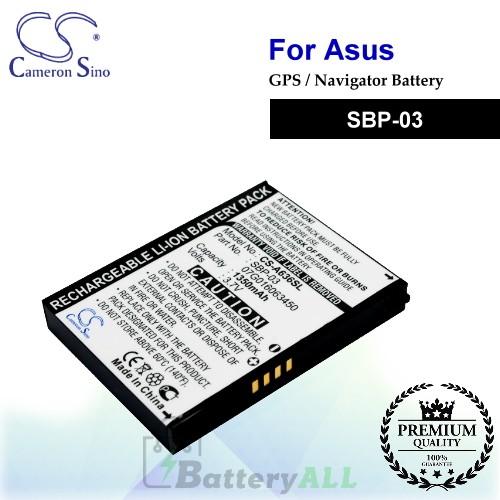CS-A636SL For Asus GPS Battery Model SBP-03
