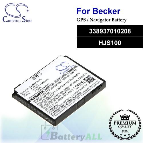 CS-BKS100SL For Becker GPS Battery Model 338937010208 / HJS100