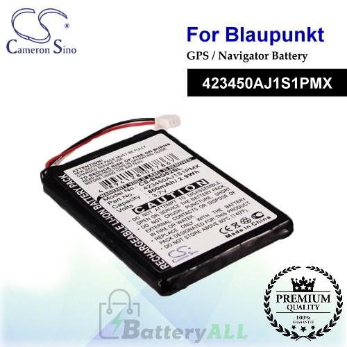 CS-BNG02SL For Blaupunkt GPS Battery Model 423450AJ1S1PMX
