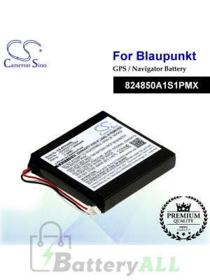 CS-BTP300SL For Blaupunkt GPS Battery Model 824850A1S1PMX
