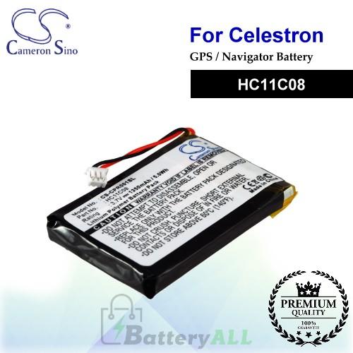 CS-CPR001SL For Celestron GPS Battery Model HC11C08