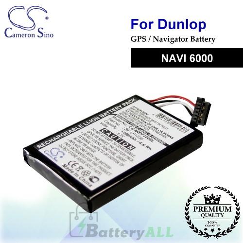 CS-MIOP350SL For Dunlop GPS Battery Fit Model NAVI 6000