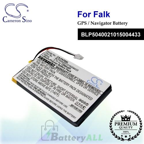 CS-FKF6SL For Falk GPS Battery Model BLP5040021015004433