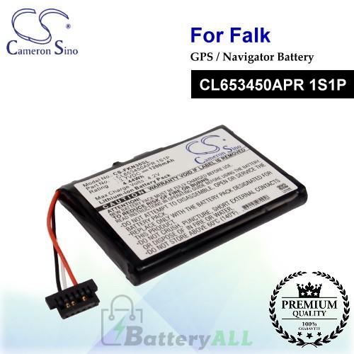 CS-FKN30SL For Falk GPS Battery Model CL653450APR 1S1P