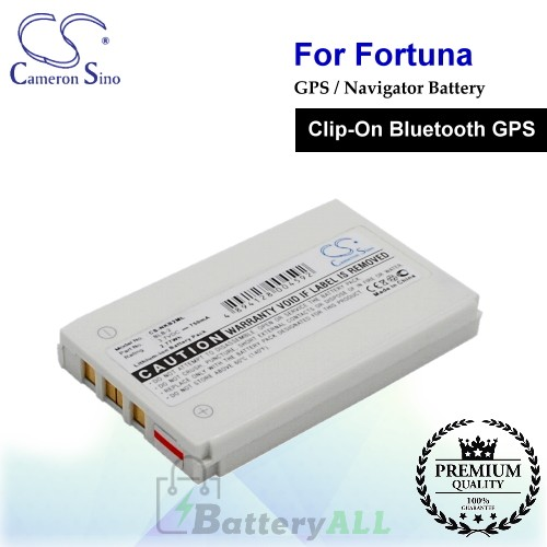 CS-NKB2ML For Fortuna GPS Battery Fit Model Clip-On Bluetooth GPS