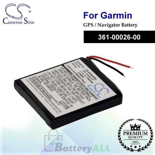 CS-GFN205SL For Garmin GPS Battery Model 361-00026-00