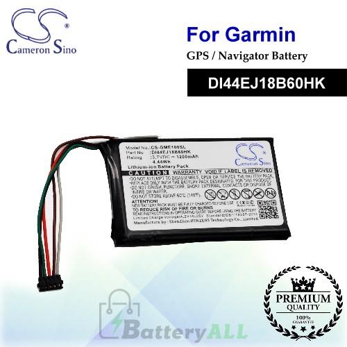 CS-GME100SL For Garmin GPS Battery Model DI44EJ18B60HK