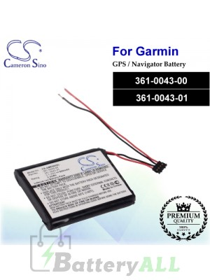 CS-GME500SL For Garmin GPS Battery Model 361-00043-00 / 361-00043-01 / 361-0043-00 / 361-0043-01